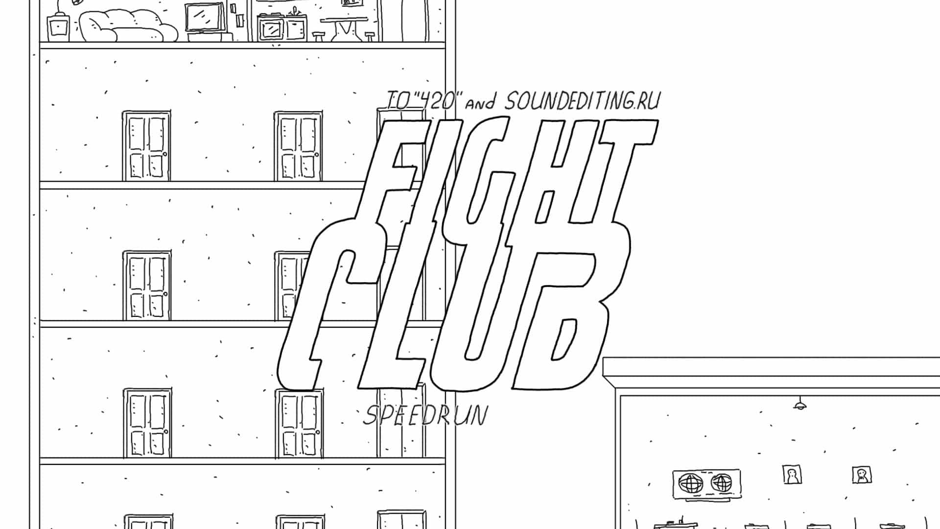 Samstags-Kurzfilm: Fight Club in 60 Seconds